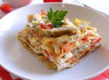 Lasagne con pomodorini
