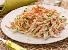 Insalata di carote e robiola