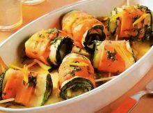 Involtini di zucchine e carote