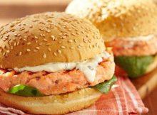 Hamburger al salmone