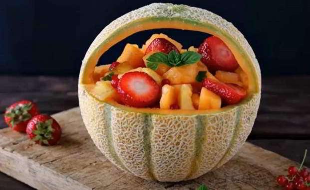 Melone ripieno