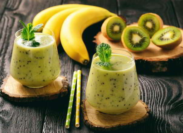 Frullato di kiwi e banana